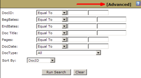 Updated Version of Existing Search Form