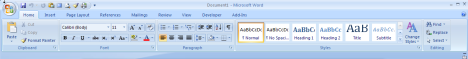 Office 2007 Ribbon. Why, Microsoft, Why?